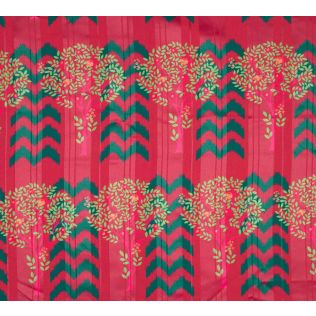 India Circus Flutter Tree Shower Curtain