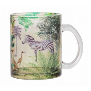 India Circus Forest Dominion Glass Coffee Mug