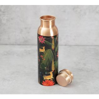India Circus Forest Fetish Copper Bottle