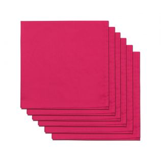 India Circus Fuchsia Blush Table Napkin Set of 6