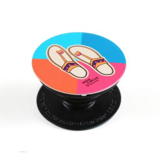 India Circus Funky Slippers Popsocket