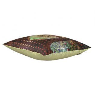 India Circus Gadisar View Satin Blend Cushion Cover