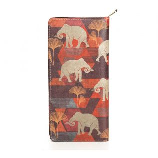 India Circus Gallant Tusker Travel Wallet