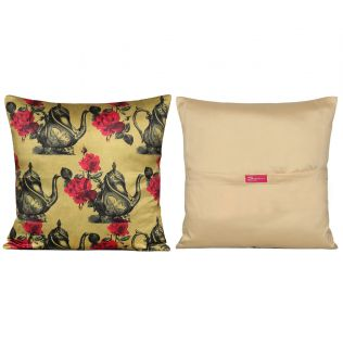 India Circus Garden Hi-Tea Cushion Cover Set of 5