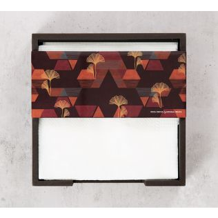 India Circus Geometrical Deluge Tissue Holder