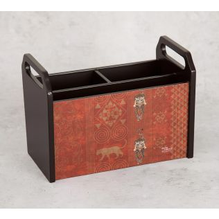 India Circus Geometrical Empress Desk Organizer