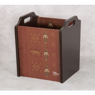 India Circus Geometrical Empress Magazine Holder
