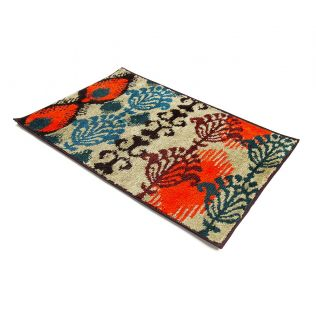 India Circus Geometrical Illusions Bathmat