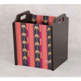 India Circus Geometrical Palmeria Magazine Holder
