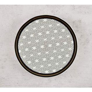 India Circus Geometrical Tara Quarter Plate