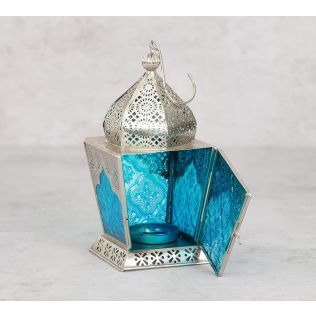 India Circus Green Dome Small Candle Lantern