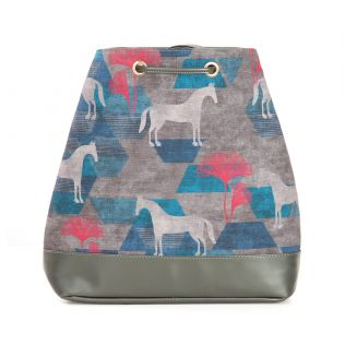 India Circus Grey Gallant Gypsy Hobo Bag