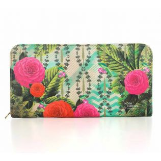 India Circus Herbs of Captivation Ladies Zipper Wallet