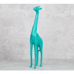 India Circus Hoofed Giraffa Figurine