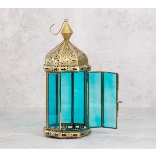 India Circus Jaali Iron Candle Lantern