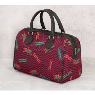 India Circus Jam Chevron Butterflies Duffle Bag