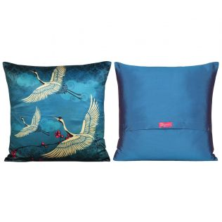 India Circus Lakeside Crane Flight Cushion Cover Set of 5