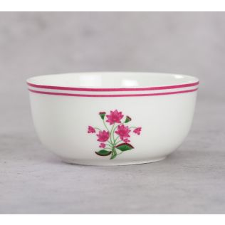 India Circus Lattice Lotus Katori Bowl