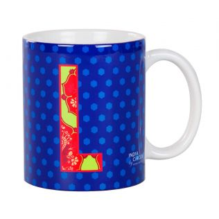 India Circus Lavish Alphabet L Mug