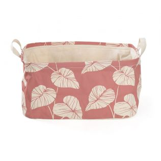 India Circus Leaf Creeper Rectangle Laundry Basket