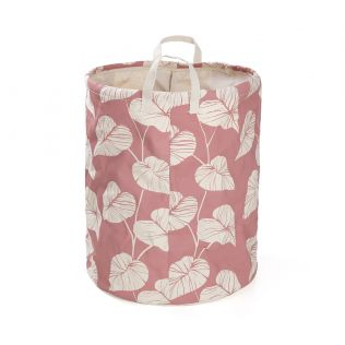 India Circus Leaf Creeper Round Laundry Basket