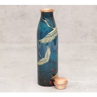 India Circus Legend of the Cranes Copper Bottle