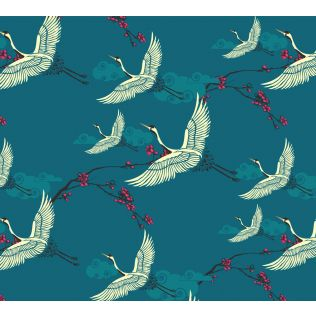 India Circus Legend of the Cranes Gift Wrapping Paper