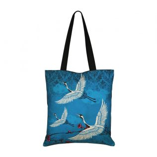 India Circus Legend of the Cranes Jhola Bag