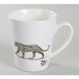 India Circus Leopard Valley Coffee Mug