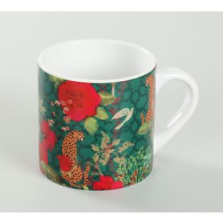 India Circus Leopards of Kabini Espresso Mug