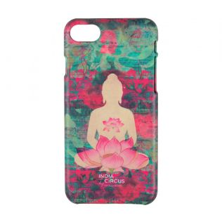 India Circus Lotus Seated Meditating Buddha iPhone 8 Cover
