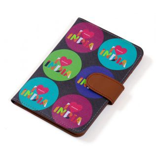 India Circus Love IC Passport Cover