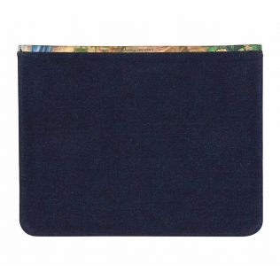 India Circus Mapping Animals Denim iPad Sleeve