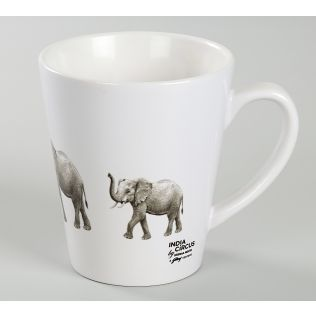 India Circus Mastodon Lift Coffee Mug