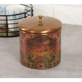 India Circus Medieval Majesty Storage Jar