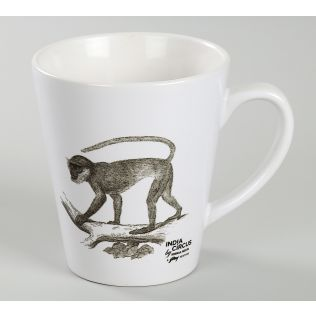 India Circus Monkey Mindset Coffee Mug