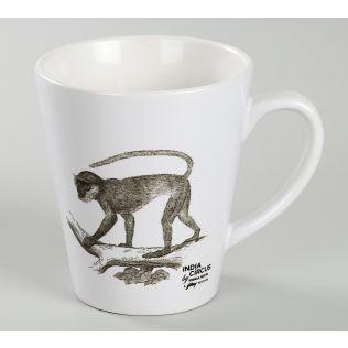 India Circus Monkey Mindset Coffee Mug
