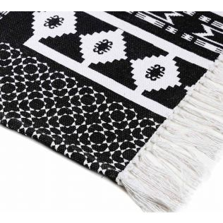 India Circus Monochrome Ensemble Rug