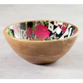 India Circus Monochrome Ensemble Serving Bowl