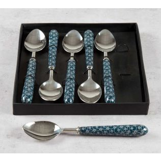 India Circus Moribund Geometry Table Spoon Set of 6