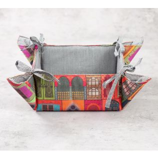 India Circus Mughal Doors Reiteration Bread Basket
