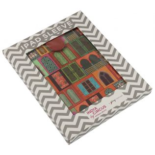 India Circus Mughal Doors Reiteration iPad Sleeve