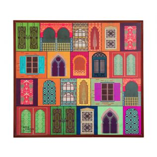 India Circus Mughal Doors Reiteration Side Table