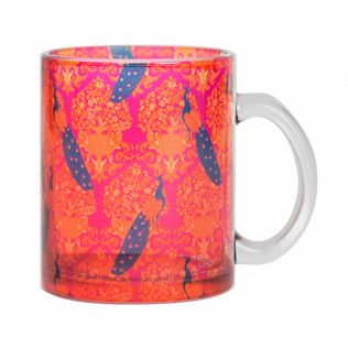India Circus Muster of Eloquence Glass Coffee Mug