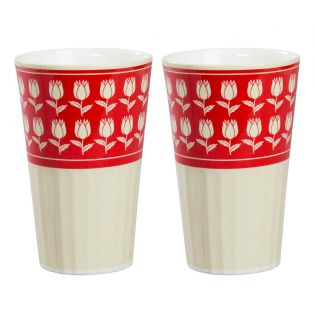 India Circus Mystique Flower Ambush Tall Tumbler