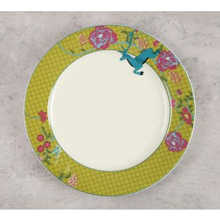 India Circus Natures Essence Paradise Dinner Plate