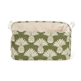 India Circus Pineapple Rectangle Laundry Basket