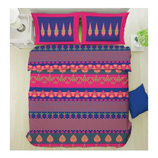 India Circus Placid Patterns Bed Sheet Set