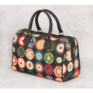 India Circus Platter Portrayal Duffle Bag