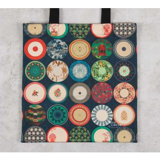India Circus Platter Portrayal Jhola Bag